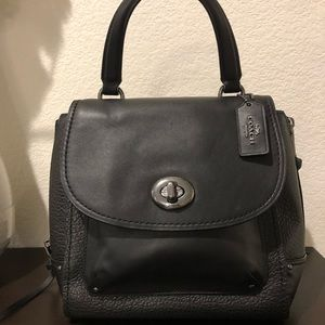 NWT Coach Mini Faye Backpack